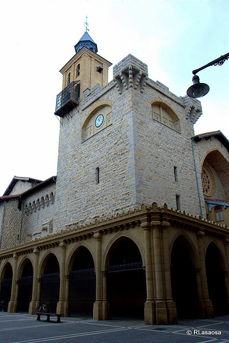 Iglesia de san nicol s places of tourist in the world - Potsdam pamplona ...