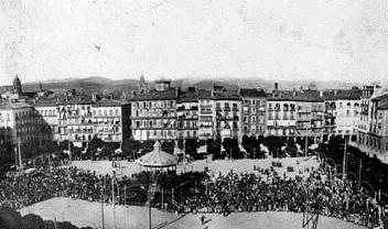 Espectáculo Plaza del Castillo