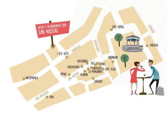 Mapa San Nicolás